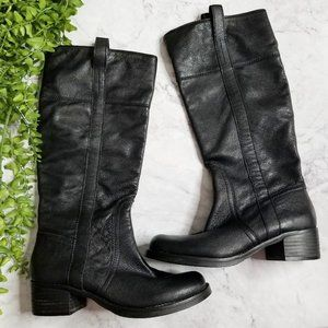 Sole Society | Miriam Black Leather Tall Boots